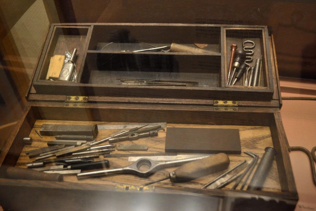 Picture of the Wright Brothers toolbox. I hope to build a simple yet effective collection of tools like theirs.